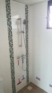 shower set install singapore